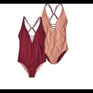 Patagonia one piece bathing suit